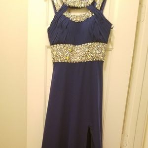 Long Formal Sequin Dress